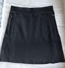 Ibex Skirt Wool Brown Izzie Knee-Length A-Line Usa Size Xs