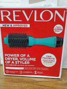 C6 Revlon Pro Collection Salon One-Step Hair Dryer and Volumizer, GREEN