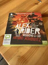 Alex Rider Missions 1 - 10, MP3 Audio Book 10 CDs Unabridged, Anthony Horowitz