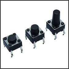 10x | 20x 6x6x4.3/6/10mm Mini Taster Drucktaster klein Mikroschalter Arduino