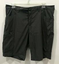 Eddie Bauer Travex Stretch Casual Cargo Shorts Men's 40 Gray