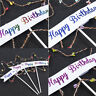 Fantasy LED Pearl Heart Star Cake Topper Happy Birthday Cake Party Decoration