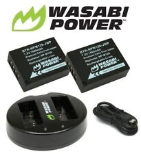 Wasabi Power 1400mAh Battery  (2-Pack) and Dual USB Charger for Fujifilm NP-W126
