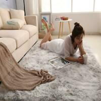 Long Plush Fluffy Rugs Anti-Skid Shaggy Area Rug Dining Room Bedroom Comfortable