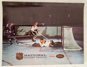1967-68 NHL Hockey North Stars Vs Philadelphia Flyers Official Program! (B120)