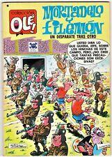 OLÉ! nº 151: MORTADELO Y FILEMÓN Un disparate tras otro 1ª edición 1978 Bruguera