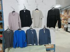 8 SWEATERS XXL ADULT MENS LOTS CLOTHING SHIRTS COLLAR OUTFIT SWEATSHIRT DRI-FIT