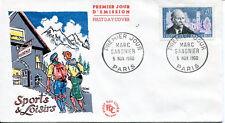 FRANCE FDC - 360 1271 2 MARC SANGNIER 5 11 1960