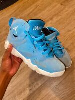 Jordan Retro VII 7 French Blue Flint Grey White Shoes 304774-107 Youth Size 7Y 7