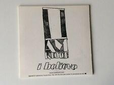 I Am Kloot - I Believe -1 Track  Promo CD