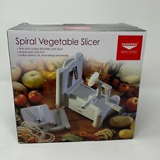 Paderno World Cuisine Tri-Blade Plastic Spiral Vegetable Slicer New in Box