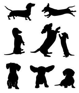 Dachshund Dog Bundle Stencil - A4/A5/A6