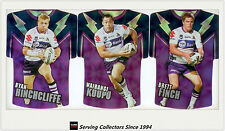 2009 Select NRL Classic Holofoil Jersey Die Cut Card Team Set Storm (6)