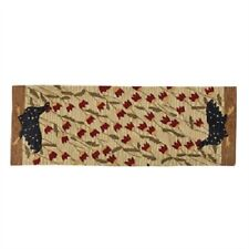 CHICKEN RUN HOOKED RUG RUNNER HAND HOOKED POLYESTER BY PARK DESIGNS HOME DECOR