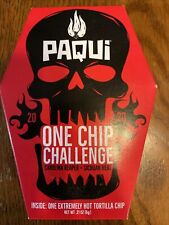 PAQUI CAROLINA REAPER ONE CHIP CHALLENGE 2020 FREE SHIPPING WORLDS HOTTEST CHIP