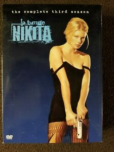 La FEMME NIKITA COMPLETE THIRD SEASON DVD TV SERIES BOX SET