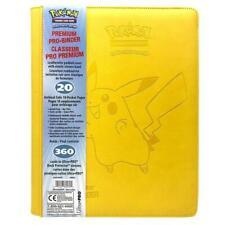 More details for ultra pro - 9 pocket premium pro binder - pokemon pikachu