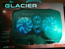 Merkury Innovation Glacier LED Gaming Cooling Pad Evo Core For Laptops up to 17""