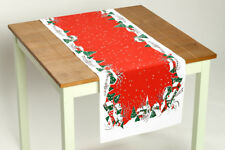 "Christmas Table Runner Vintage Style Christmas Holiday Home 16"" x 54""  NEW"
