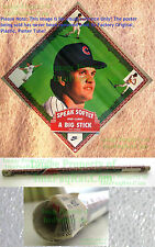 OLD STOCK w/Label SPEAK SOFTLY CARRY A BIG STICK Ryne Sandberg CUBS NIKE Poster
