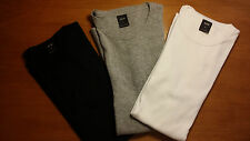 3 t-shirt G-STAR, uomo, L, blu grigio bianco