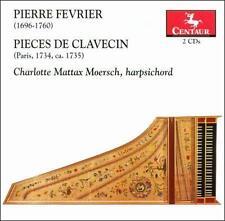 Fevrier: Pieces De Clavecin, New Music