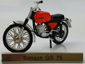 1/24 Atlas Simson GS 75 Red