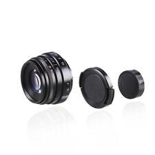 35mm F1.6 CCTV Camera Lens W/Adapter C Mount for Nikon F AI D5600 D850/7500/7200