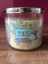 Bath & Body Works Magic In the Air 3 Wick Candle 14.5 oz NEW Jewelled Lid