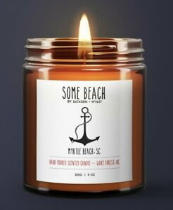 Hand poured Myrtle Beach South Carolina Candle