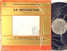 COLUMBIA 6-EYE Stravinsky Conducts LE ROSSIGNOL Nightengale GRIST Shrink ML-5727