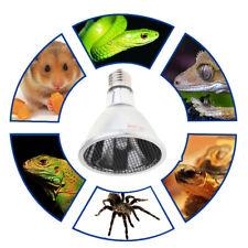 Ceramic Heater Lamp Infrared Reptile Heat Emitter Bulb for Lizard Turtle