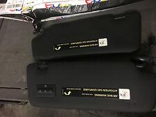 2002-2008 AUDI A4 S4 RS4 B6 B7 SEDAN AVANT BLACK PAIR SUN VISOR