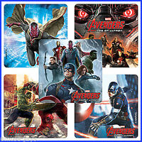 Avengers Stickers x 5 - Marvel Movie Age of Ultron Birthday Party Ironman