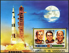 Umm Al Qiwan 1971 Apollo 15 Space Mission Cto Used M/S #D47829