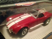 1:18 Ertl American Muscle Red Shelby Cobra 427 SC Item 7346 7369