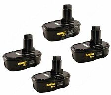 Dewalt DC9098 18V NiCd Cordless Battery 4 Pk New for DC9310 DC9320 DW9226 DW9116