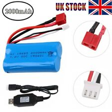 2000mAh 7.4V 2s 20C Lipo Battery T Plug +Charger for RC Car Off Road Truck Car