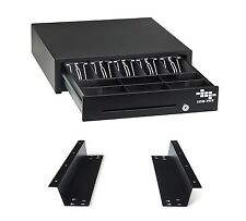 EOM-POS Cash Register Drawer & Mounting Brackets for Under Counter Installation