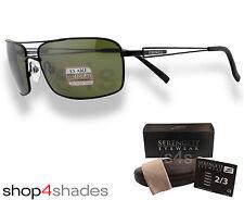 Serengeti Dante Sunglasses Satin Black_Polarised Photochromic 555nm 8457