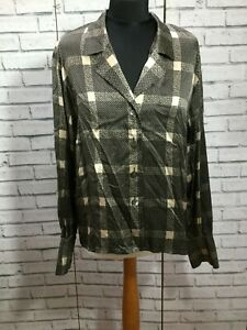 BEAUTIFUL VINTAGE SILK EVENING BLOUSE FROM JAEGER BARELY WORN SIZE 14 UK