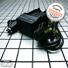 AC Wall Car Battery Charger for Canon BP-807 808 809 VIXIA HFS20 HFS21 HG30 XA10