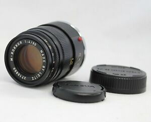 Minolta M-Rokkor 90mm F/4 Made by Leitz Germany for Leica M mount from Japan