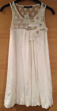 White Lace Mini Floral Pattern Size 8 New With Tags Dress Party