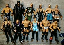 WWE Jaks Wrestling Figure Bundle 12 Figures w Wrestling Ring & Accessories Cool