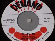 "Maury Finney:  Release Me/ Jambalaya  U.S  Demand records   7""   Near Mint"