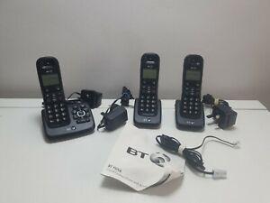 BT XD56 Trio Answer Machine Cordless Phones Nuisance Call Blocker Black. ( N1)
