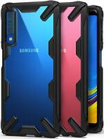 For Samsung Galaxy A7 2018 | Ringke [FUSION-X] Clear Back Shockproof Cover Case