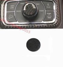 Carbon Fiber Central control knob cover sticker For Jeep Grand Cherokee 14-18
