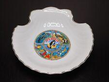 Vintage Sea World Shell Shaped Trinket Dish Ashtray